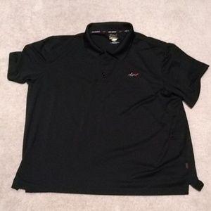 Black Polo golf shirt